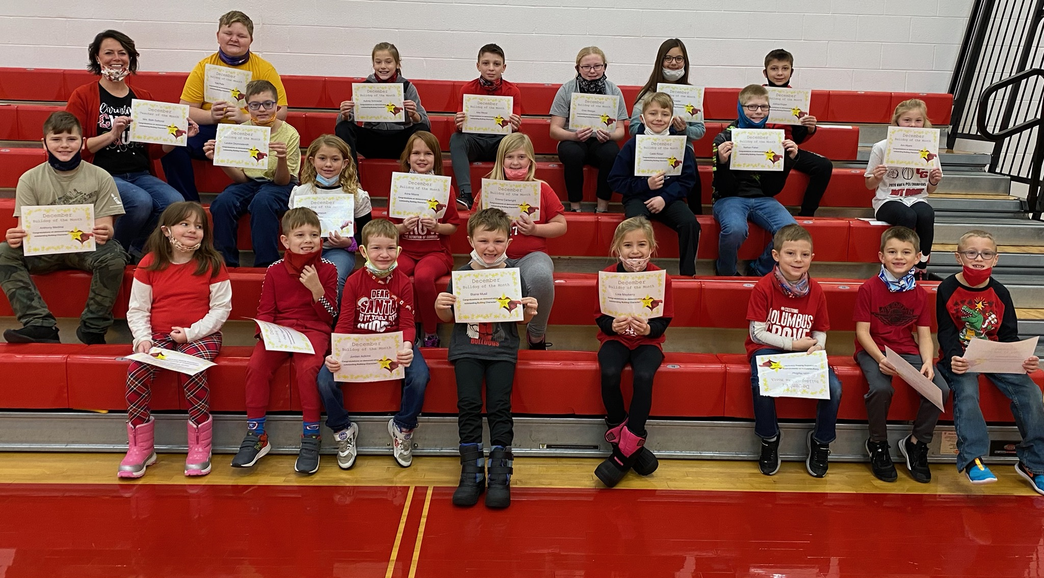 December Bulldogs of the Month