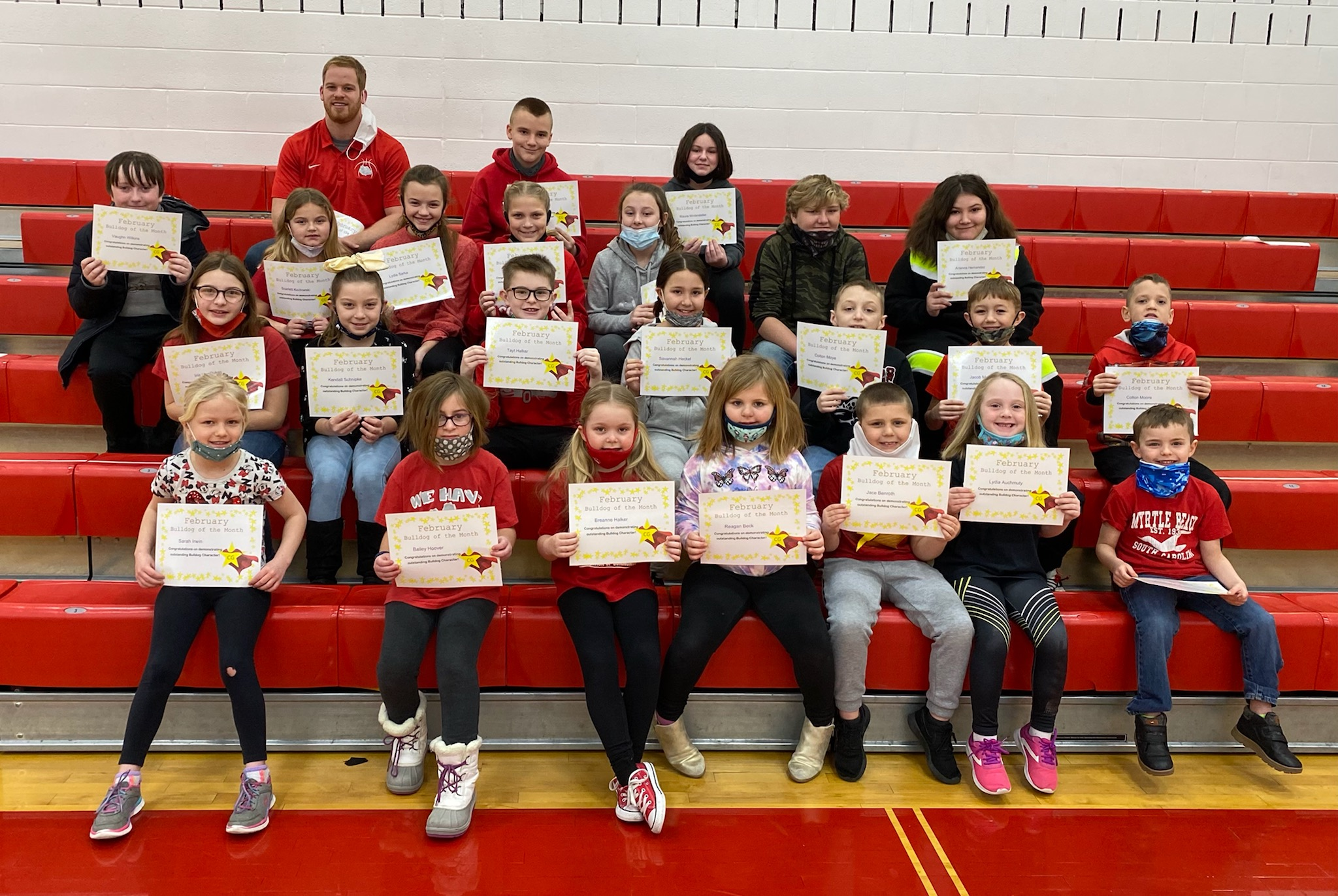 February Bulldogs of the Month
